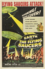 Cover for Earth vs. the Flying Saucers
