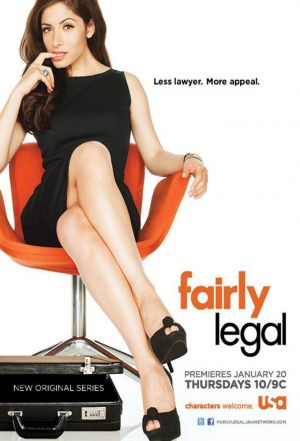 Cover for Fairly Legal