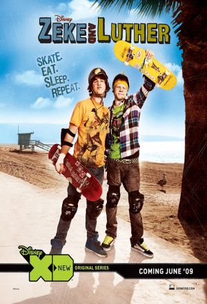 Cover for Zeke & Luther