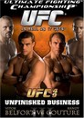 Cover for UFC 49: Unfinished Business